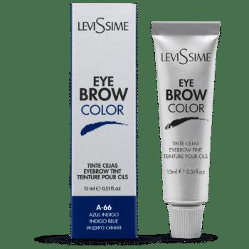 coloration pour sourcils bleu indigo A-66