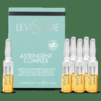 ampoules pour peaux grasse astringent complex