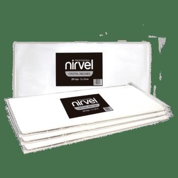 papiers transparents pour mèches